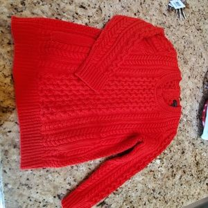 Beautiful Red sweater with pockets! (xs)